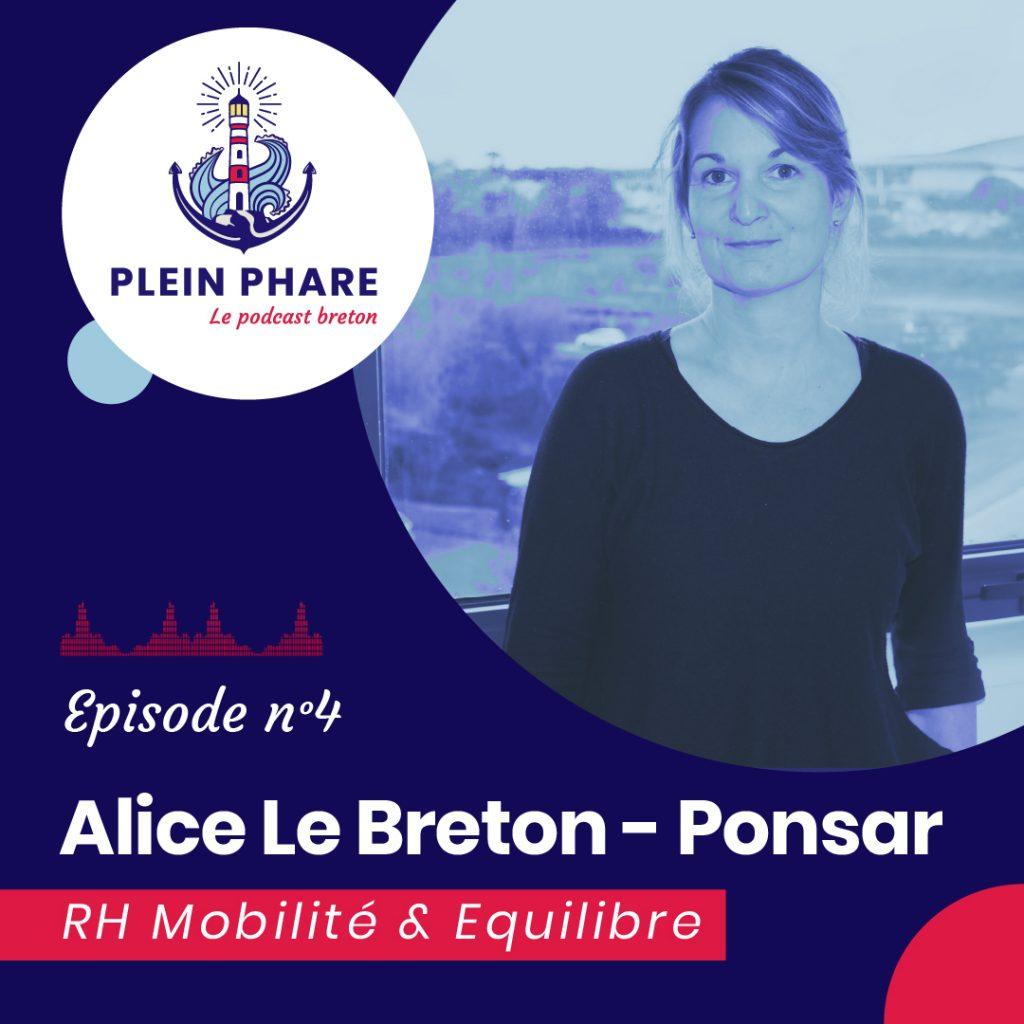 Episode 4 : Alice Le Breton-Ponsar, dirigeante de RH Mobilité et d'Équilibre à Guipavas - Plein Phare, le podcast breton